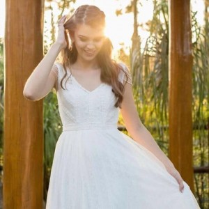 Noiva MARAVILHOSA e leve com o nosso modelo Zelda felicidadeshellip