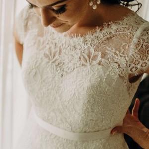 Ana Carolina Nossa noiva deusa com o modelo Lady customizadohellip